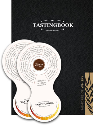 Tastingbook Cover + Tools