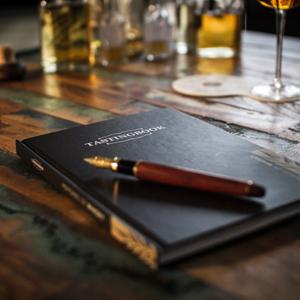 TASTINGBOOK-Whisky mit Füller